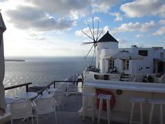 Molino de viento, mirando al mar. Oia. Isla de Santorini. Grecia (escandio) Tags: 3 otros santorini grecia oia 2015 cicladas isladesantorini