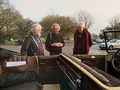 December 2015 :  ' The three wise men of Automobilia ' * (John(cardwellpix)) Tags: uk england corner sunday citroen surrey torpedo guildford nr slough 13th rare newlands 1224 surviving albury 1927 decenber rhd 2015 b14 merrow