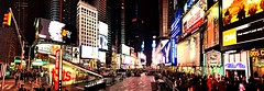 Manhattan Times Square (HVargas) Tags: newyorkcity panorama newyork building manhattan pano panoramic theaters skipped streetofnewyork
