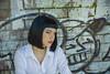 2016.09 Hair Dresser of the Year, Portrait, Fremantle (3AbroadPhotography) Tags: 2016 fashion fremantle graffiti hairdesign lisaokeeffe photoshoot punk salonexpress september sienna woolstores