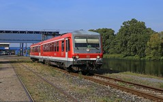Mülheim an der Rurh, Nordhafen, DB 628 442 (Baureihe 628)