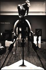 Industrial Man (Vide Cor Meum Images) Tags: mac010665yahoocouk markcoleman videcormeumimages vide cor markandrewcoleman meum nikon d750 rockdrill jacob epstein sculpture art war industrial revolution drill machine robot android modernism vorticist birmingham museum england english