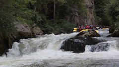 White water rafting, River Aude (Niall Corbet) Tags: france aude languedoc roussillon occitanie quillan belvianes rodeoraft rafting whitewater whitewaterrafting river riviere gorgesdelapierrelys gorge pierrelys
