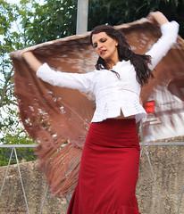 Laureen (Kaya.paca) Tags: danseuse flamenco exterieur t reprsentation femme portrait