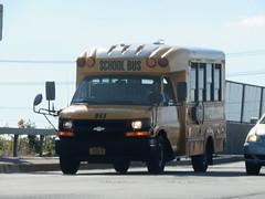 Quality Bus Service #845 (ThoseGuys119) Tags: qualitybusservicellc qualitybussales sparrowbushny mini bus minotour thomasbuilt bluebird microbird gmc chevy