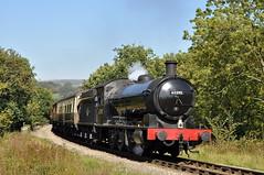 20110928    63395 (paulbrankin775) Tags: 63395 q6 ner lner br grosmont north yorkshire moors railway nymr steam greenend