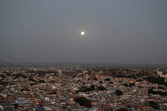181 (lrudzis) Tags: landscape north india jodhpur rajasthan travel explore international moon city evening