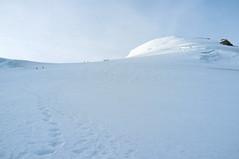 Touwgroepen op weg naar de Bishorn (Inklaar) Tags: fujifilmx100 wallis walliseralpen zinal inklaar:see=all gletsjer bergen turtmanngletscher bishorn weisshorngruppe alpen zwitserland alpesvalaisannes alpi alps glacierdetourtemagne penninischealpen schweiz suisse svizra svizzera switzerland valais x100 ferner ghiacciaio glacier gletscher oberems ch