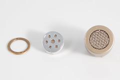 Behringer C-2 Capsule Disassembled Front (TomBenedict) Tags: behringer c2 microphone disassembly hacking sound audio recording electronics diy modification