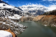 Barrage d'Emosson (jjcordier) Tags: emosson valais suisse barrage montagne lac neige