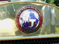 1912 Thomas 6-40 Touring (splattergraphics) Tags: 1912 thomas 640 touring badge emblem nameplate carshow theeleganceathershey hersheypa