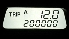 Rolled over 200K on the Honda this evening (Lee Bennett) Tags: mile milestone mileage car odometer 200000 200k