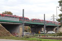 National railway operator (MAV) flyover at Aquincum felso Halting (Albert Lugosi) Tags: acquincum budapest hungary train desiro acquincumfelso overfly mav