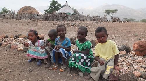 Djibouti_2014 - Enfants de Dougoum