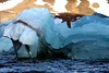 Vestre Burgerbukta - Iceberg waves (Heaven`s Gate (John)) Tags: iceberg arcticcircle svalbard norway cold water ocean arctic johndalkin heavensgatejohn ice wave blue white seascape vestre burgerbukta