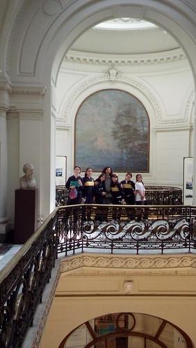 Museo de Bellas Artes, Biblioteca Nacional y Cerro Santa Lucia