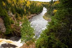 Baptism River 20161007-_DSC4624 (POV Heartland) Tags: baptismriver falls minnesota northshore river stateparksgreen tettegouchestatepark yellow fallcolors landscape waterfalls