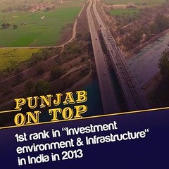 Punjab 1st rank in investment environment & infrastructure in india - Youth Akali Dal (youth_akalidal) Tags: youthakalidal developingpunjab yad punjab