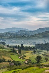 Winding Road (Padmanabhan Rangarajan) Tags: araku valley road winding s curves composition india mountains mist mornings