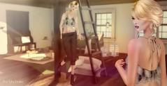 One Romantic Space (Pau*Rubi Dexler*) Tags: sl secondlife petitemort kc rezologyhair treschic blog