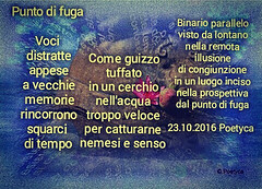 Punto di fuga (Poetyca) Tags: featured image immagini e poesie sfumature poetiche poesia