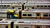 Trains (Miradortigre) Tags: trenes trains rail road ferrocarril nyc newyorkcity newyork station estacion ньюйорк 纽约 ニューヨーク市 न्यू यॉर्क शहर নিউ ইয়র্ক সিটি