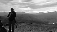 At the top Stuc an Lochain (monkeyiron) Tags: stucanlochain munro hillwalking glenlyon perthshire