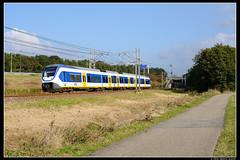 NSR-2450_Rvbr_22102016 (Dennis Koster) Tags: ns nsr trein personentrein passagierstrein slt abbenes 2450