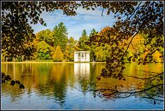 autumn colors are popping (mcmumpitz) Tags: bavaria bayern deutschland europa europe germany hdr herbst jahreszeit muenchen munich mnchen nymphenburg nymphenburgerschlosspark autumn highdynamicrange photowalking season