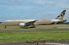 Boeing 777-3FXER A6-ETF Etihad (EI-DTG) Tags: man manchesterairport ringway 24aug2016 planespotting aircraftspotting boeing 777 boeing777 b777 triple7 tripler a6etf etihad