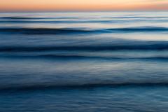 Turbulence (Caroline Oades) Tags: sea blue brackleshambay westsussex england slowshutterspeed longexposure dusk twilight sundown sunset swell turbulence icm coast seaside