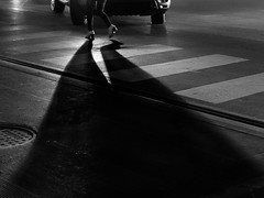 Casting a long shadow (__paulieb) Tags: blackandwhite chicago explore canon streetphotography street flickr