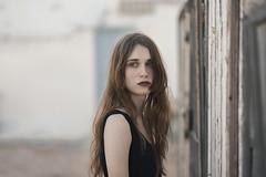 S A U D A D E (Tania Cervin) Tags: seleccionar girl model beauty saudade nostalgia conceptual portrait fine art beaut eyes canon taniacervianphotography