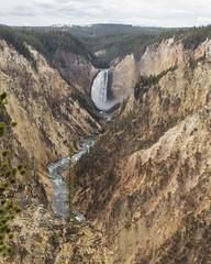 untitled-4 (eenerf) Tags: wyoming yellowstonecanyon yellowstonepark naturalbeauty nature waterfall