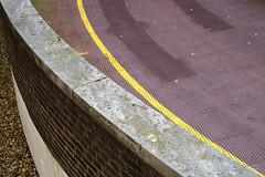 Radius (cybertect) Tags: bucknallstreet canonfd55mmf12aspherical london londonwc2 sonya7 stgiles wc2 carpark ramp wall yellowline