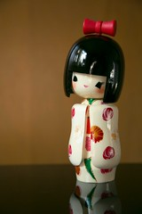 you're such a doll! (abbey cowan) Tags: kokeshi doll