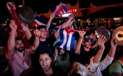 Fidel is dead Viva Cuba Libre...! (The Sergeant AGS (A city guy)) Tags: event celebration exploration cubans street miamifl