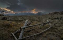 Teton Sunset (Elain) Tags: tetons sunset