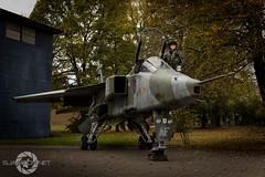 """Jaguar Driver"" (SJAviation.net) Tags: raf aircraft nikon aviation jet 238squadron gr1 tle jaguar xz383 rafcosford sepecat"