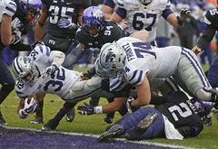 1203 TCU Kansas State (paulmoseleyphotos) Tags: 1203tcukansasstatefortworthbig12collegefootball paul moseley paulmoseleyphotos fort worth dallas texas photo photographer photojournalism canon eos porsche carrera 911sc 911t 911s 911l 911e 356 914 928 cayman boxster cayenne macan fuchs german germany volkswagen gti r32 rangers mlb stars nhl tcu horned frogs cowboys nfl mavericks mavs nba woodrow wilson high 1972 fortworth tx