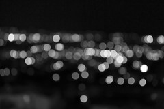 Black and White (Stephanielii97) Tags: blackandwhite bw detail alone lights night nighttime afterdark