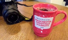 Cup of mulled wine at Manchester Christmas Markets (Tony Worrall) Tags: xmas christmas seasonal festive market season fun manchesterchristmasmarkets england northern uk update place location north visit area county attraction open stream tour country welovethenorth northwest unitedkingdom gmr manchester manc city rest drink cup mulledwine ale wine red treat liquid