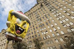 Joy! (gimmeocean) Tags: spongebobsquarepants spongebob 2016macysthanksgivingdayparade thanksgivingdayparade thanksgiving spongebobballoon newyorkcity nyc newyork ny manhattan uws upperwestside