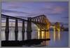the bridge 2 3545 (Iain Izatt) Tags: forth rail bridge sunset