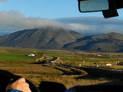Touring Iceland (Ramona H) Tags: iceland touring winding road