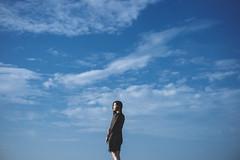 DSC_2231 (Ivan KT) Tags: art photography conceptual exhibition taiwan lotus girl woman light shadow sight portrait backlighting sky