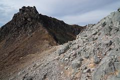 Mt.Yakedake (bamboo_sasa) Tags:              yakedake northen alps mountain volcano gifu nagano shinshu japan autumn matsumoto hida hiking trekking