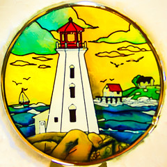 Lighthouse @ Peggy's Cove (Timothy Valentine) Tags: 0816 squaredcircle vacation datesyearss 2016 peggyscove novascotia canada ca nightlight