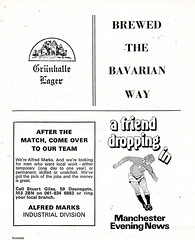 Manchester City vs Stoke City - 1974 - Page 14 (The Sky Strikers) Tags: manchester city stoke maine road 50 years football league first division match magazine 10p