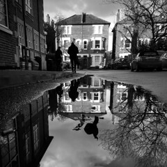 Project 365; #35; Puddleshot (iMalik1) Tags: project 365 oneimageaday onephotoaday onephotographaday onepicaday onepictureaday pictureoftheday picoftheday imageoftheday photooftheday photographoftheday blackandwhite monotone monochrome black white blackandwhiteoftheday puddleshot puddleshotoftheday rain water wet weather winter reflection clouds sky cars samsung s6 edge photograph photography mobile phone phonenography mobiletogography imalik ealing